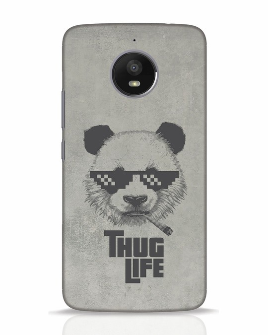 Shop Thug Life Moto E4 Plus Mobile Cover-Front