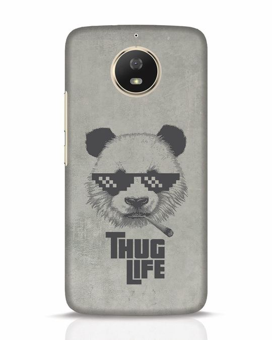 Shop Thug Life Moto G5s Mobile Cover-Front