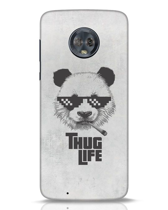 Shop Thug Life Moto G6 Mobile Cover-Front