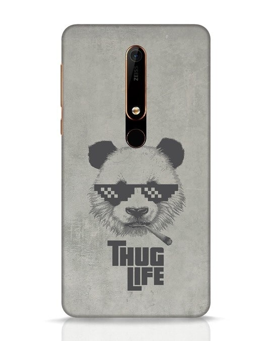 Shop Thug Life Nokia 6.1 Mobile Cover-Front