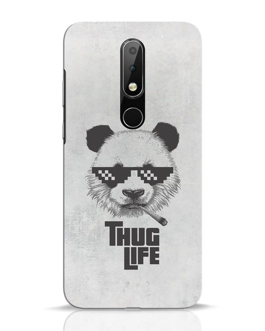 Shop Thug Life Nokia 6.1 Plus Mobile Cover-Front