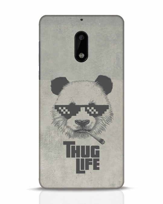 Shop Thug Life Nokia 6 Mobile Cover-Front