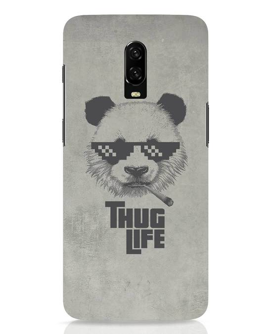 Shop Thug Life OnePlus 6T Mobile Cover-Front