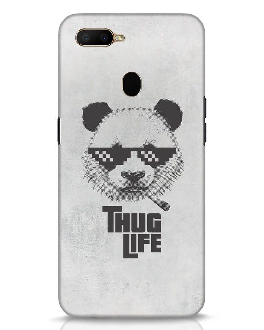Shop Thug Life Oppo A5s Mobile Cover-Front