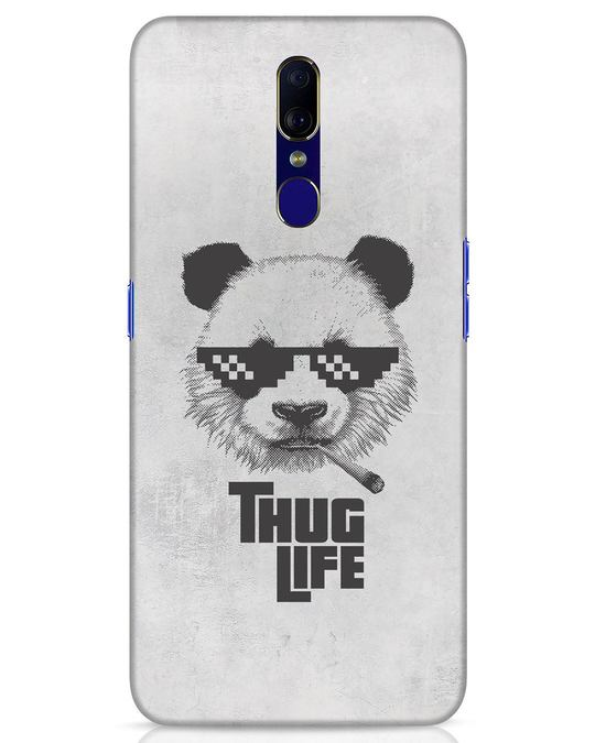 Shop Thug Life Oppo F11 Mobile Cover-Front