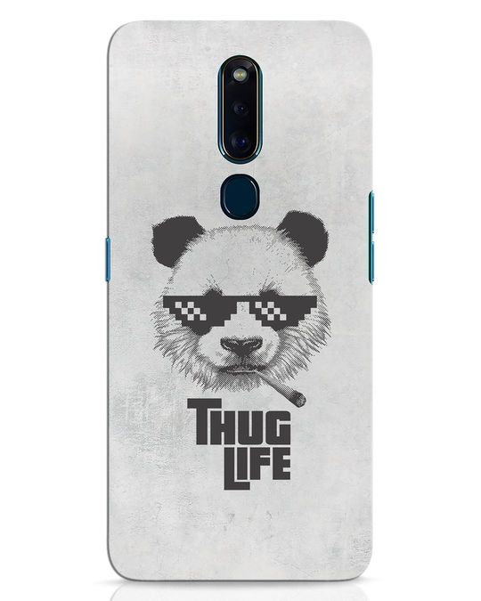 Shop Thug Life Oppo F11 Pro Mobile Cover-Front