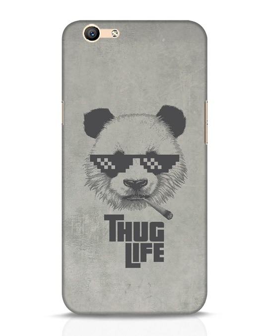 Shop Thug Life Oppo F1s Mobile Cover-Front