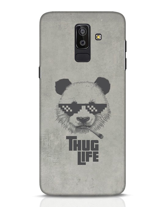 Shop Thug Life Samsung Galaxy J8 Mobile Cover-Front