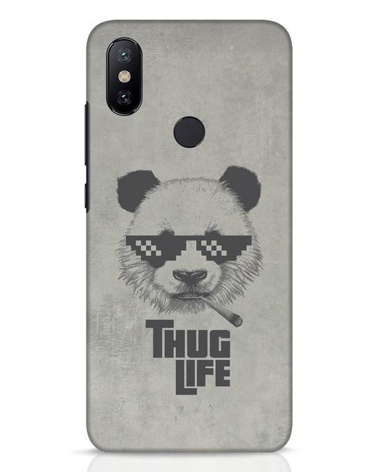 Shop Thug Life Xiaomi Mi A2 Mobile Cover-Front