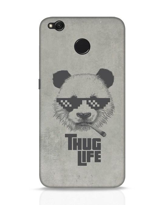 Shop Thug Life Xiaomi Redmi 4 Mobile Cover-Front