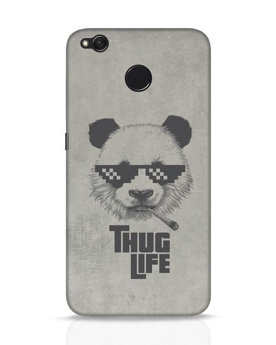 Shop Thug Life Xiaomi Redmi 4 Mobile Cover-Front