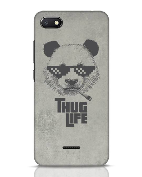 Shop Thug Life Xiaomi Redmi 6A Mobile Cover-Front