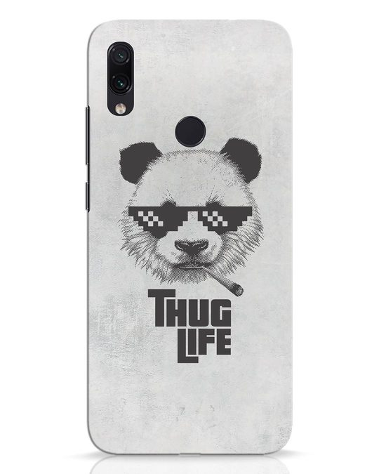 Shop Thug Life Xiaomi Redmi Note 7 Mobile Cover-Front