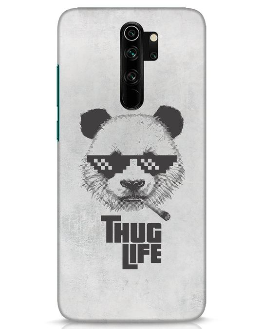 Shop Thug Life Xiaomi Redmi Note 8 Pro Mobile Cover-Front