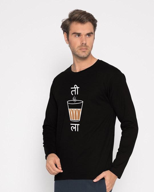Shop Ti Chai La Full Sleeve T-Shirt-Back