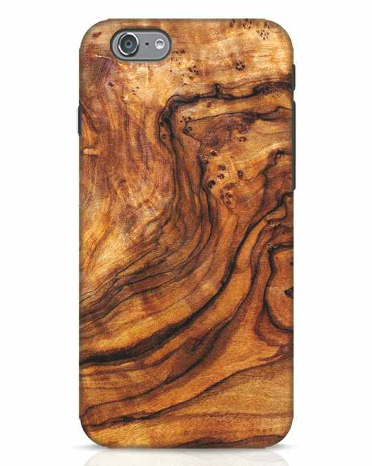 Shop Timber Texture iPhone 6s Mobile Cover-Front