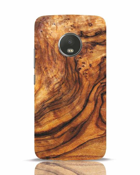 Shop Timber Texture Moto G5 Plus Mobile Cover-Front