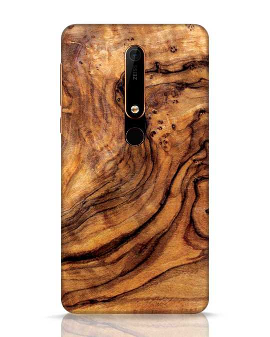 Shop Timber Texture Nokia 6.1 Mobile Cover-Front