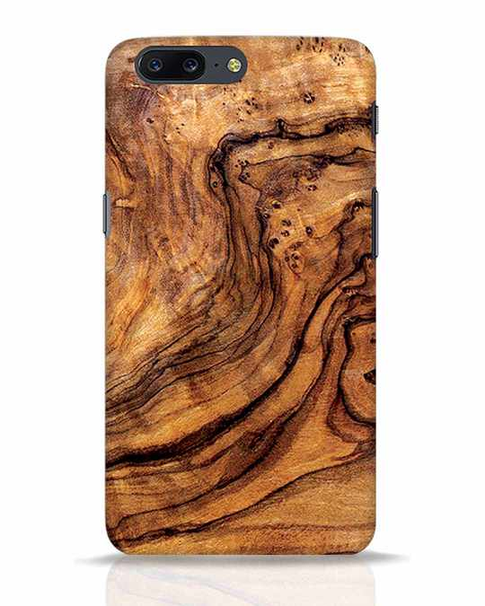 Shop Timber Texture OnePlus 5 Mobile Cover-Front