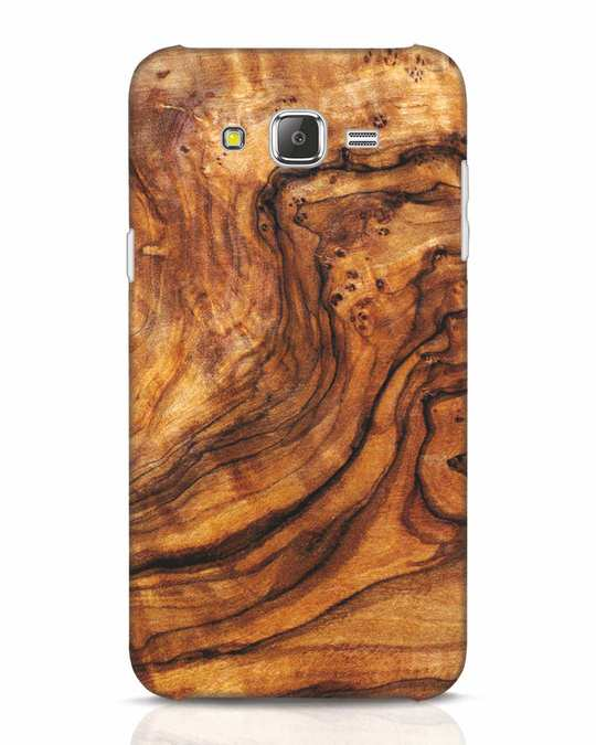 Shop Timber Texture Samsung Galaxy J7 Mobile Cover-Front