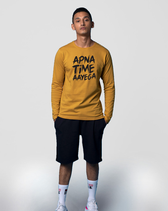 Shop Time Aayega Full Sleeve T-Shirt-Design