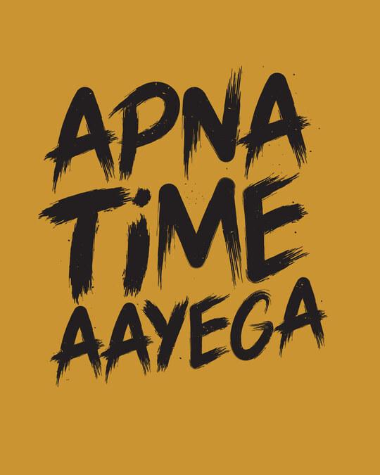 Shop Time Aayega Full Sleeve T-Shirt