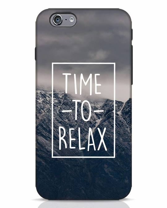 Shop Time To Relax iPhone 6 Mobile Cover-Front