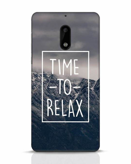 Shop Time To Relax Nokia 6 Mobile Cover-Front