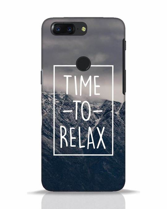 Shop Time To Relax OnePlus 5T Mobile Cover-Front