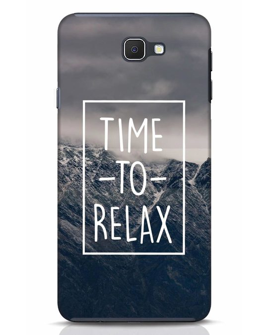 Shop Time To Relax Samsung Galaxy J7 Prime Mobile Cover-Front