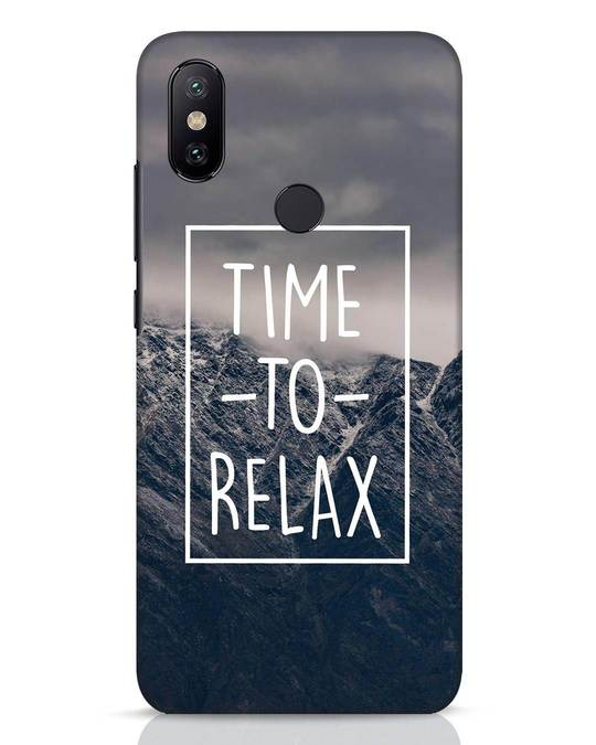 Shop Time To Relax Xiaomi Mi A2 Mobile Cover-Front