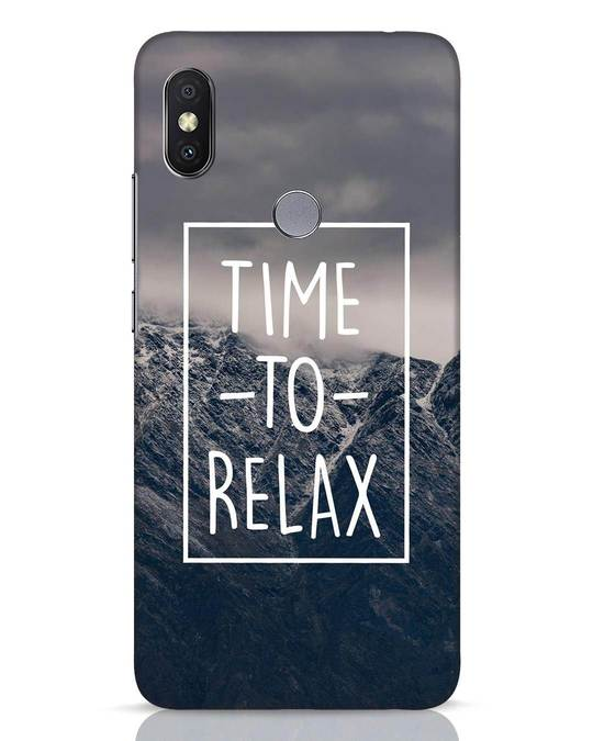 Shop Time To Relax Xiaomi Redmi Y2 Mobile Cover-Front