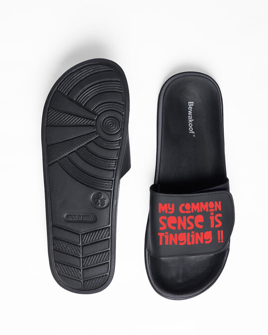 Shop Tingling Adjustable Strap Men's Sliders-Full