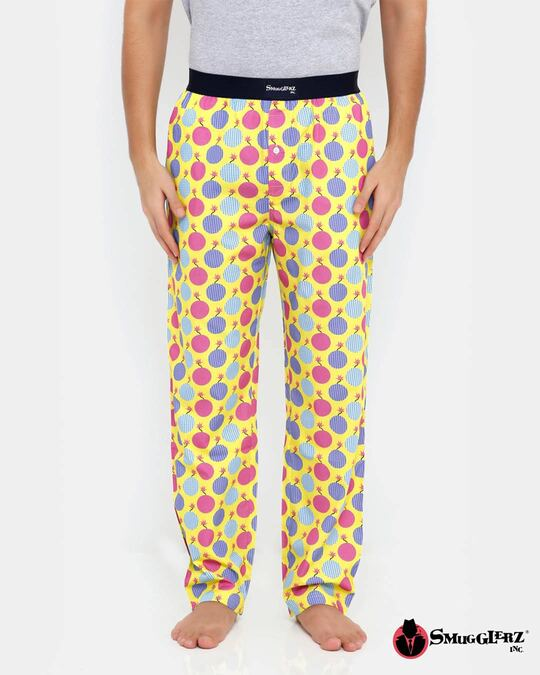 Shop Smugglerz Tnt Bomb Pyjamas Yellow-Front