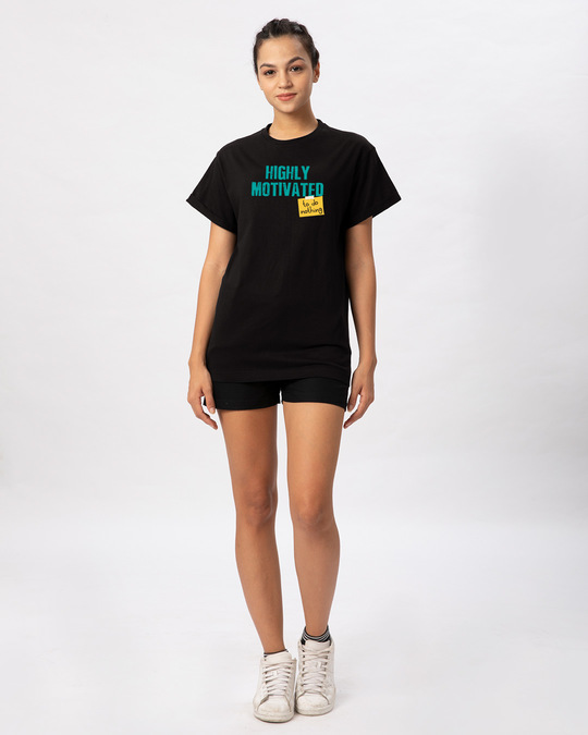 Shop To Do Nothing Boyfriend T-Shirt-Full