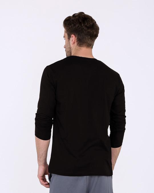Shop To Do Nothing Full Sleeve T-Shirt-Back