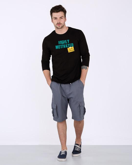 Shop To Do Nothing Full Sleeve T-Shirt-Design