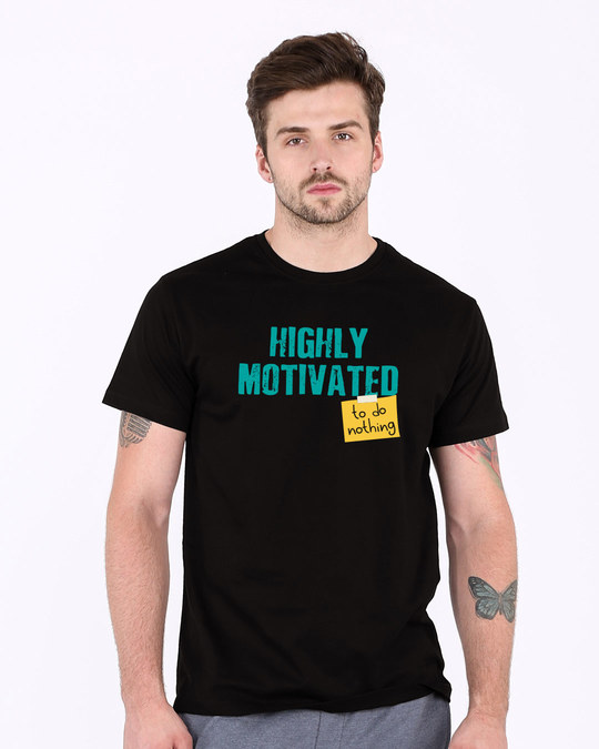 Shop To Do Nothing Half Sleeve T-Shirt-Back