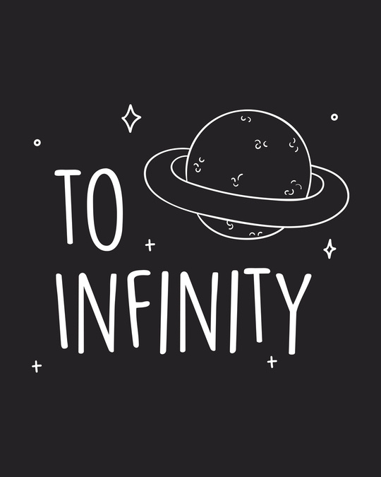 Shop To Infinity Saturn  Full Sleeve T-Shirt