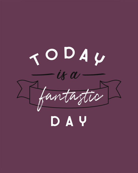Shop Today Is A Fantastic Day Boyfriend T-Shirt