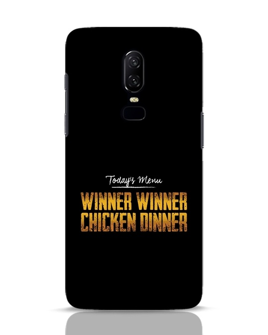 Shop Today's Menu OnePlus 6 Mobile Cover-Front