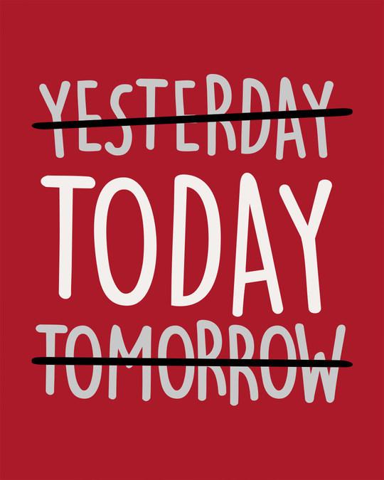 Shop Today Yesterday Tomorrow Boyfriend T-Shirt