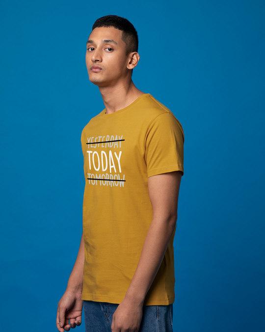 Shop Today Yesterday Tomorrow Half Sleeve T-Shirt-Full