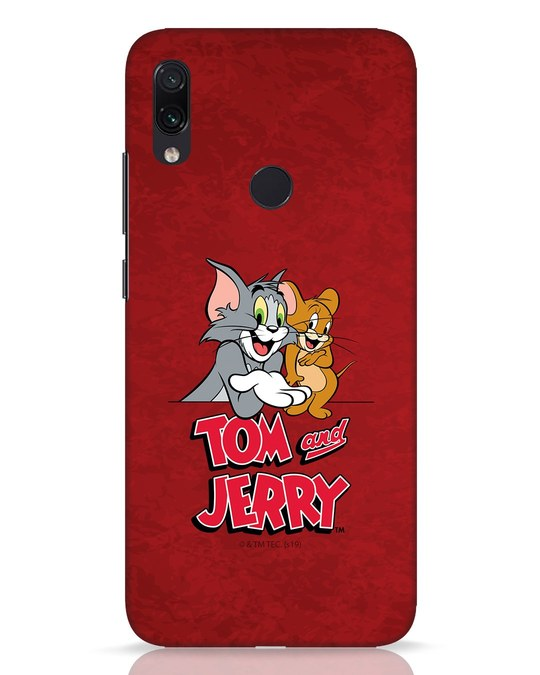 Shop Tom & Jerry Xiaomi Redmi Note 7 Pro Mobile Cover (TJL)-Front