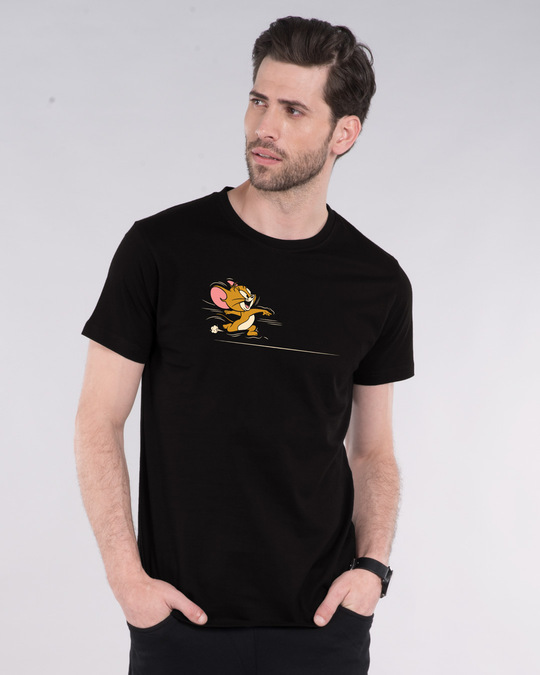 Shop Tom And Jerry Chase Half Sleeve T-Shirt (TJL)-Back