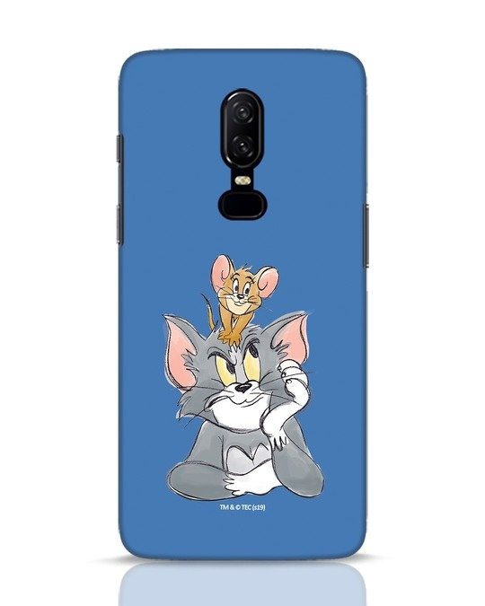 Shop Tom And Jerry OnePlus 6 Mobile Cover (TJL)-Front