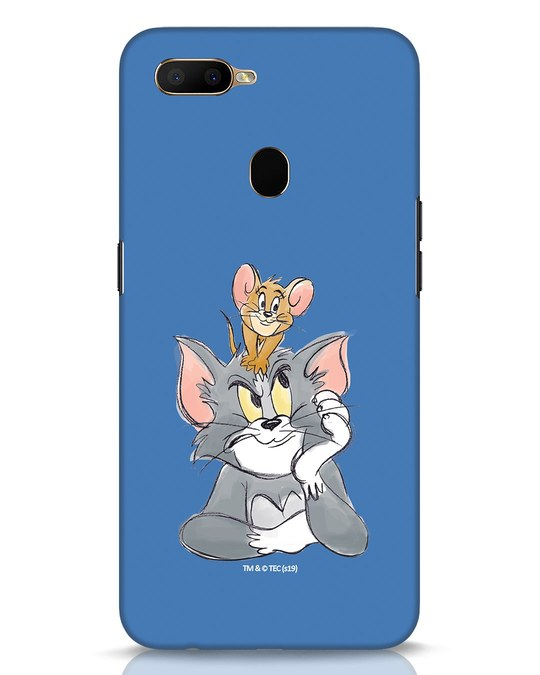 Shop Tom And Jerry Oppo A5s Mobile Cover (TJL)-Front