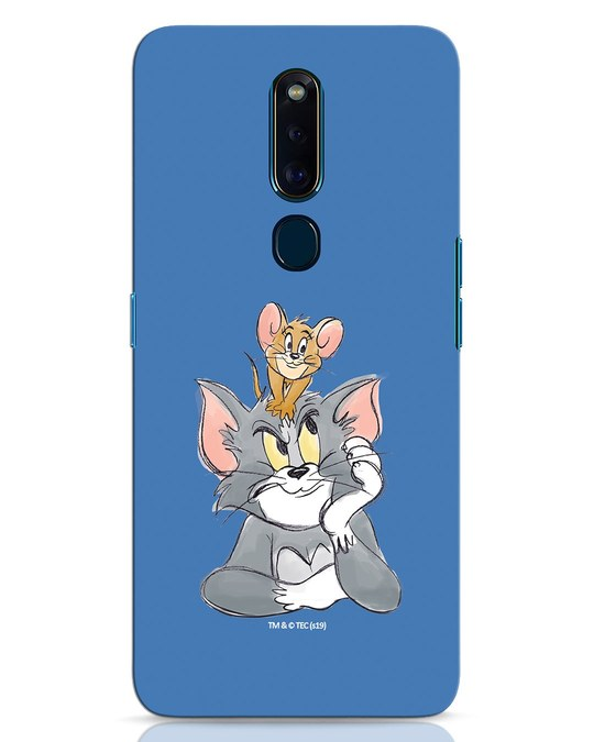 Shop Tom And Jerry Oppo F11 Pro Mobile Cover (TJL)-Front