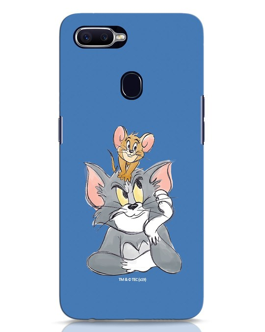 Shop Tom And Jerry Oppo F9 Pro Mobile Cover (TJL)-Front