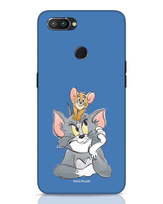 Shop Tom And Jerry Realme 2 Pro Mobile Cover (TJL)-Front